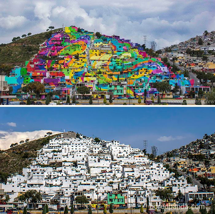 The whole town is painted, Μεξικό